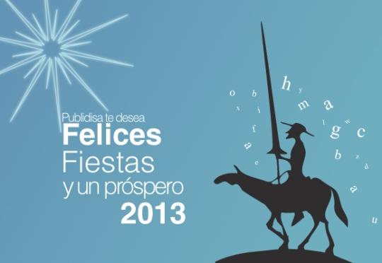 Publidisa te desea felices fiestas y un próspero 2013